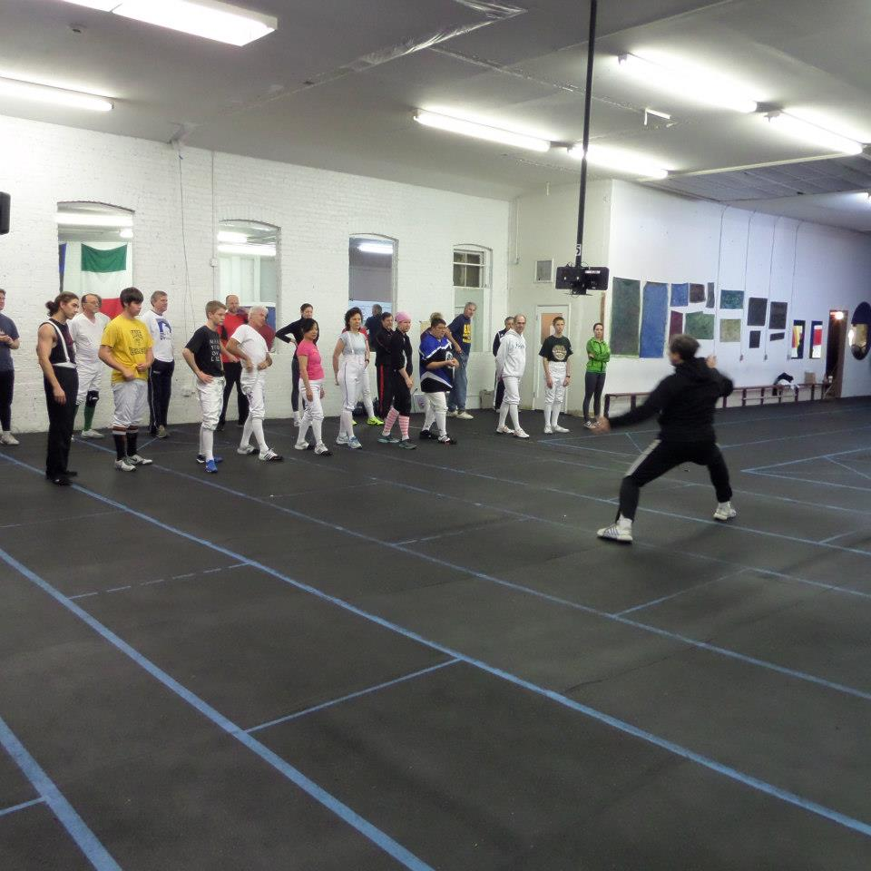 Marin Fencing Academy adult class